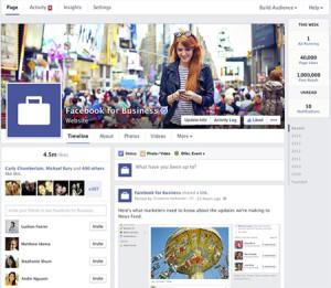 Cambios en las Páginas de Empresa de Facebook